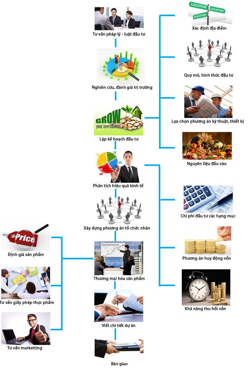 quy trình Tư vấn quản lý và lập dự án đầu tưtại Ifood