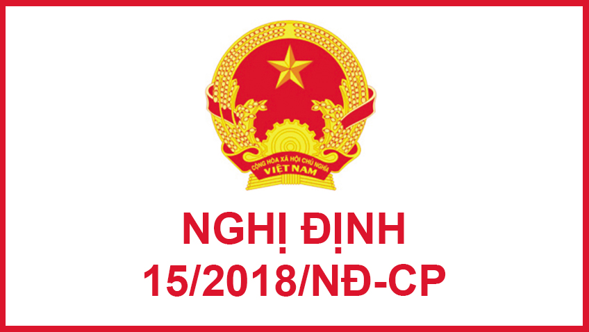 nghị định 15/2018/NĐ-CP