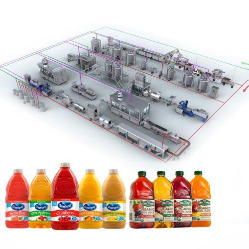 Dây chuyền sản xuất nước ép trái cây