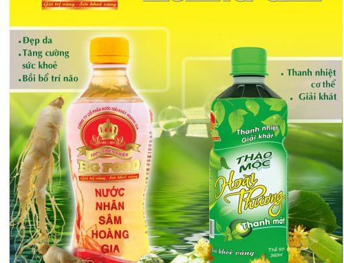 Dự án nước giải khát dinh dưỡng thương hiệu Hoàng Gia