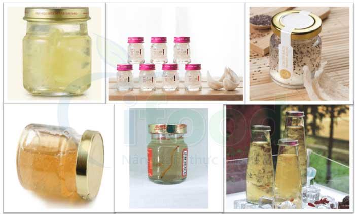 gia công sản xuất tổ yến chưng đường phèn truyền thống