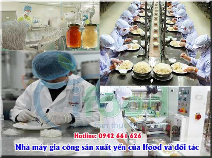 Nhà máy sản xuất yến sào và các sản phẩm từ yến
