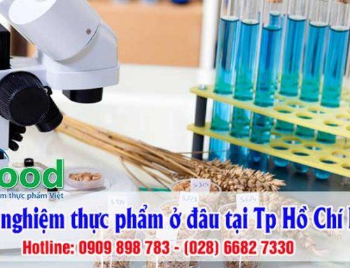 Kiểm nghiệm thực phẩm ở đâu tại Tp Hồ Chí Minh ?