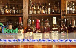 Nguyên tắc kinh doanh rượu theo quy định pháp luật doanh nghiệp nên biết