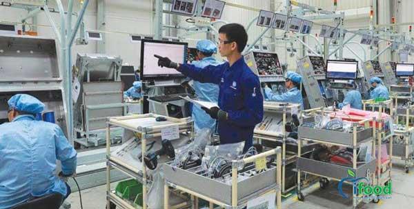 Quy trình công nghệ trong sản xuất