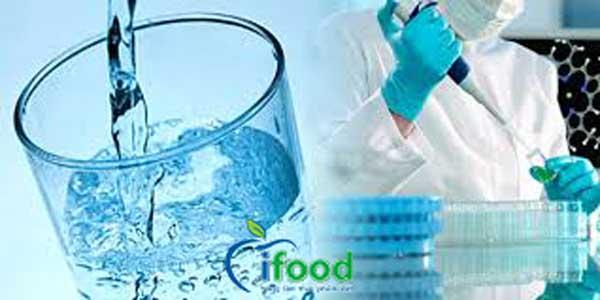 xét nghiệm thực phẩm nước sinh hoạt