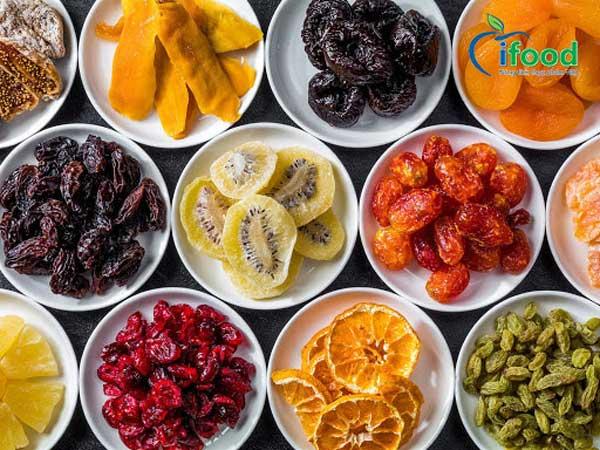 Sản phẩm trái cây sấy dẻo Ifood