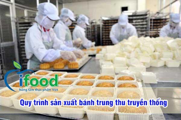 Quy trình sản xuất bánh trung thu truyền thống